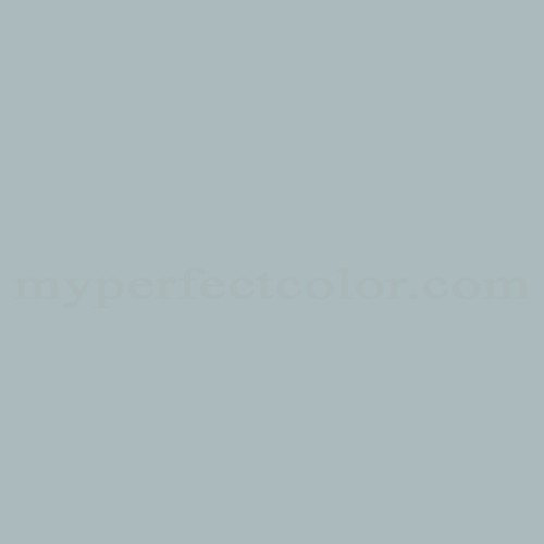 Color Match Of True Value Gray Blue