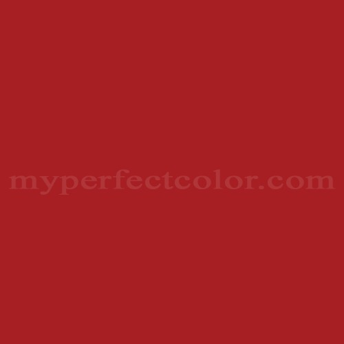 Color Match Of Ici 192 Crimson Red