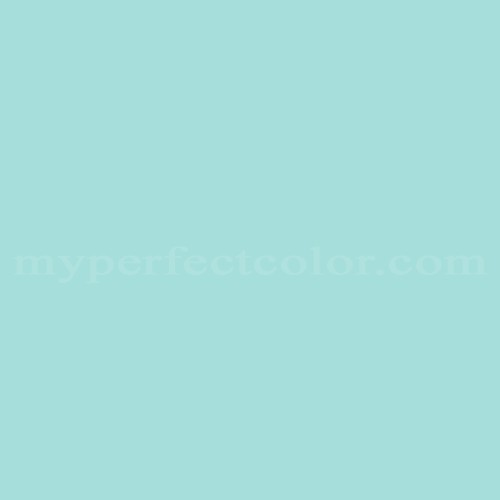Color Match Of Ici 1258 Teal Blue