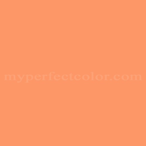 Color Match Of Home Hardware 1213 Tropical Orange*