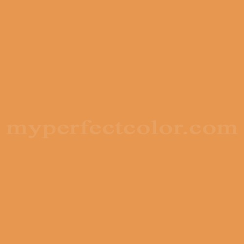 Color Match Of Sico 6089 64 Pumpkin Orange