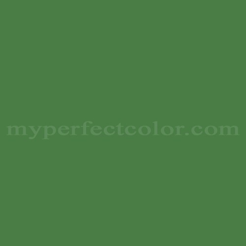 Color Match Of Sico 6128 84 Dark Forest Green