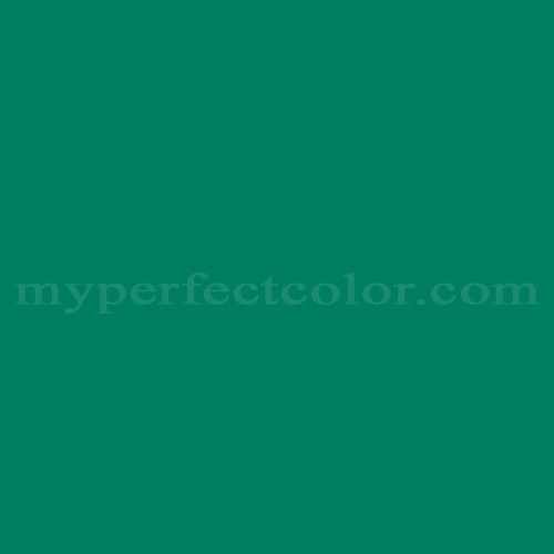 Color Match Of Sico 6145 73 Deep Sea Green