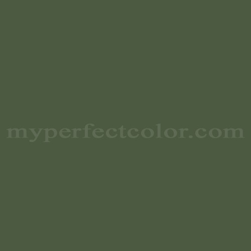 Color Match Of Sico 6167 73 Evergreen Forest