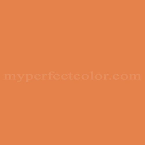 Color Match Of Olympic A23 6 Orange Poppy