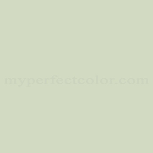 Color Match Of Olympic C68 2 Pale Moss Green