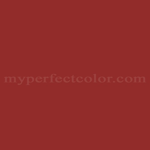 Color Match Of Glidden 14yr10 434 Cranberry Zing