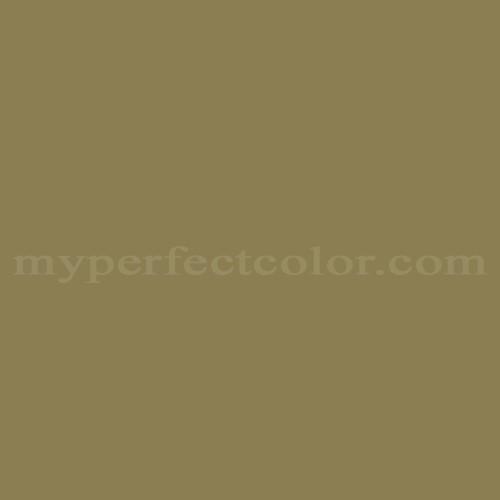 Color Match Of Glidden 60yy23 227 Retro Green
