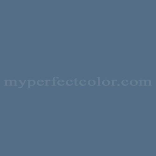 Color Match Of Glidden 30bb17 158 Blue Waltz