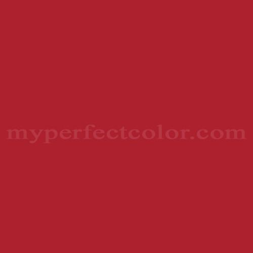 Color match of Valspar 1010-2 Bright Red*