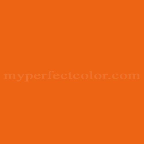 Color Match Of Valspar 2010 2 Island Orange