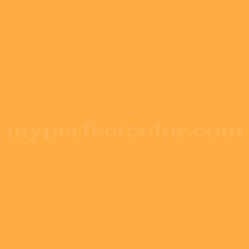 Color Match Of Valspar 2007 1b Pumpkin Er