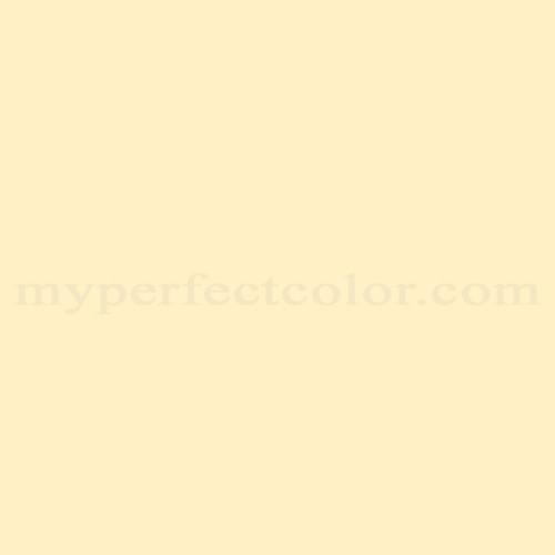 Color Match Of Valspar 3006 4c Lemon Cream