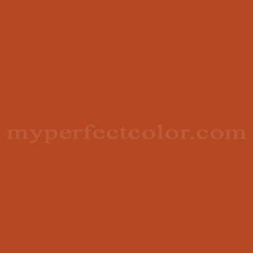 Color Match Of Valspar 2010 5 Orange Maple