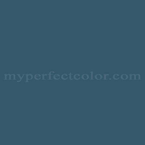 Color Match Of Valspar 4007 6c Deep Twilight Blue
