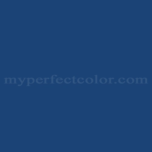 Color Match Of Valspar 4009 8 Clic Royal Blue
