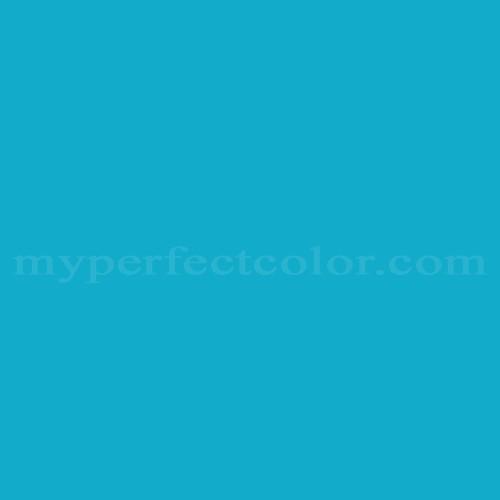 Color Match Of Cloverdale Paint 7407 True Sky Blue