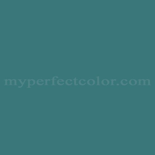 Match of Cloverdale Paint™ 7470 Time For Teal *