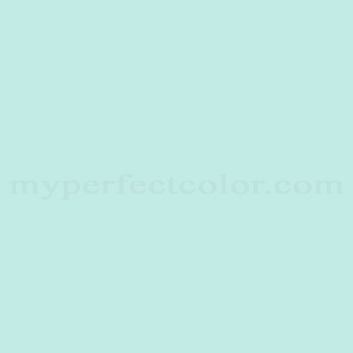 Nice Color Match Of Cloverdale Paint 7507 Baby Aqua*