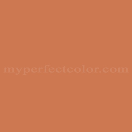 Color Match Of Cloverdale Paint 8006 Tuscan Terracotta