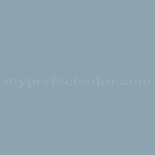 Color Match Of Cloverdale Paint 8272 Blue Horizon
