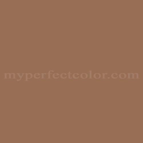 Color Match Of Cloverdale Paint 8582 Maple Sugar