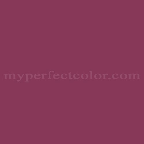 Color Match Of Cloverdale Paint Ac 133 Dark Burgundy Wine