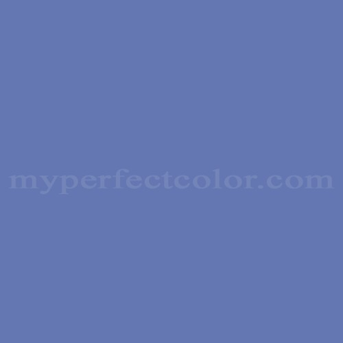 Color Match Of Mobile Paints 2342d Deep Periwinkle