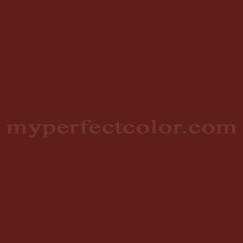 Color Match Of Mobile Paints 50 76 Colonial Red