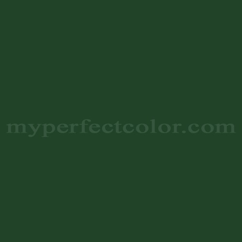 Color Match Of Mobile Paints Dark Green