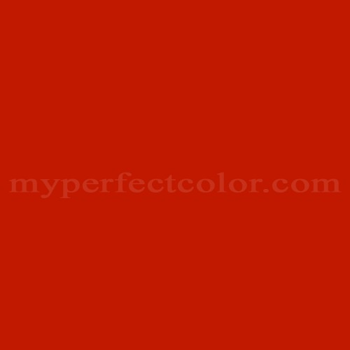 Color Match Of Mobile Paints Chinese Red
