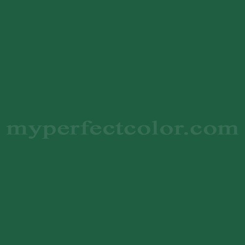 Color Match Of Martin Senour Paints M5 0034 Emerald Green