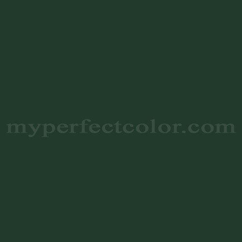 Color Match Of Martin Senour Paints M5 0035 Forest Green