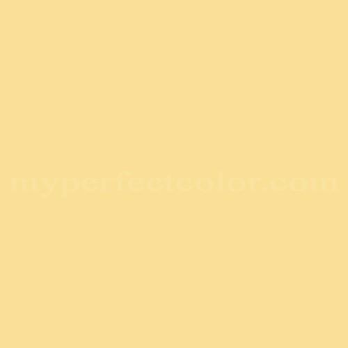 Match of Valspar™ SR605 Chilled Lemonade *
