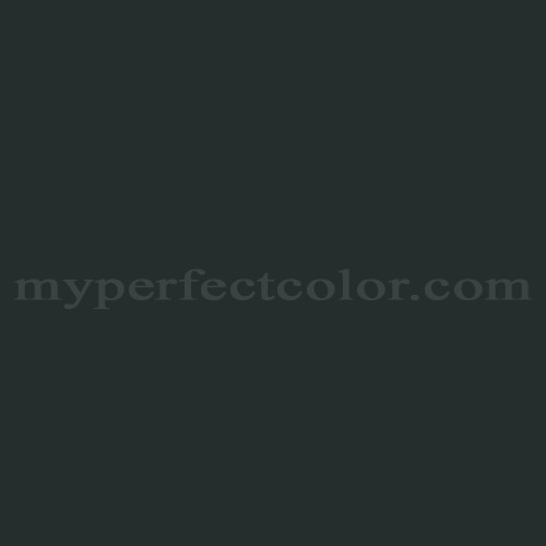 Benjamin moore black forest green myperfectcolor for Dark forest green paint
