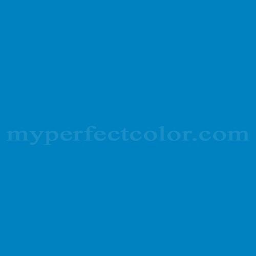 Mpc Color Match Of Behr Pph 58 Caribbean Blue