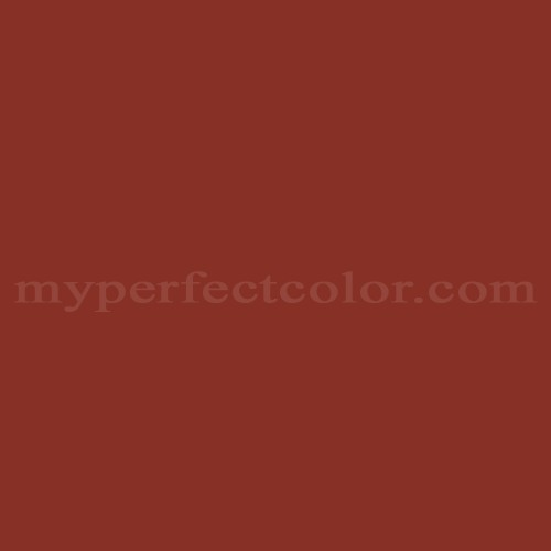 Color Match Of Behr Pph 72 Rusty Red