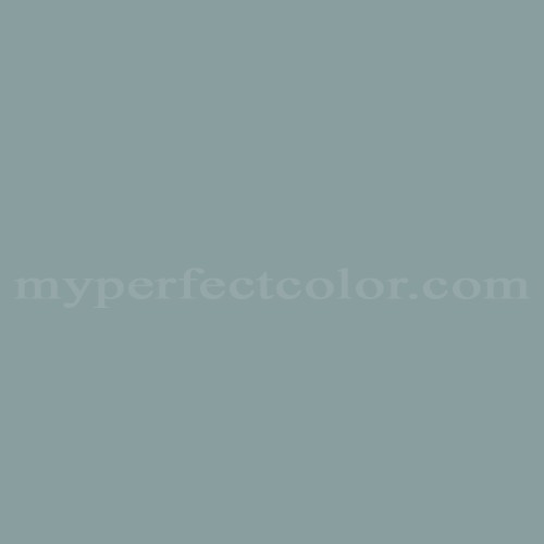 Color Match Of Columbia Paint 0485 North Beach Blue