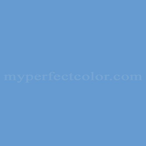 Color Match Of Columbia Paint 0611 Bashful Blue