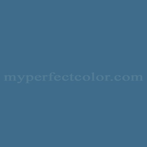 Color Match Of Columbia Paint 0619 Tonk Blue
