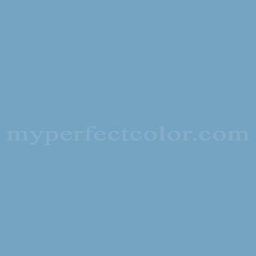 Color Match Of Columbia Paint 0646 Key West Zenith