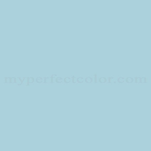 Color Match Of Columbia Paint 0651 Soft Blue