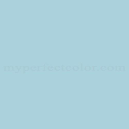 Color Match Of Columbia Paint 0651 Soft Blue