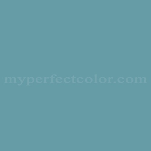 Color Match Of Columbia Paint 0667 Blessed Blue