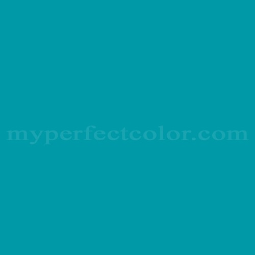Color Match Of Columbia Paint 0675 Blue Bliss