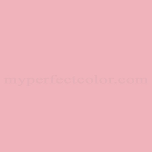 Color Match Of Columbia Paint 1098 Bubblegum Pink