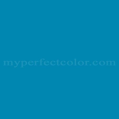 Color Match Of Pantone 18 4330tpx Swedish Blue