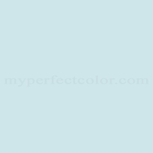 Color Match Of Glidden Glb14 Arctic Blue