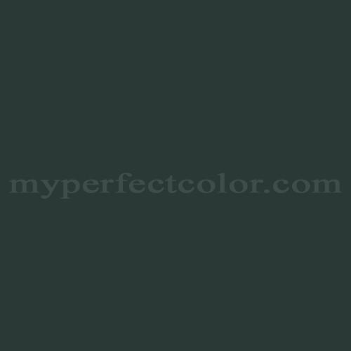 Color Match Of Glidden Gln41 Deepest Woodland Green