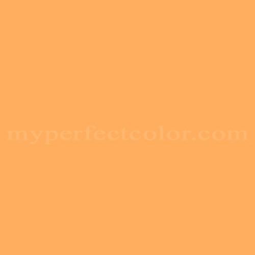 Color Match Of Glidden Glo10 Juicy Cantaloupe